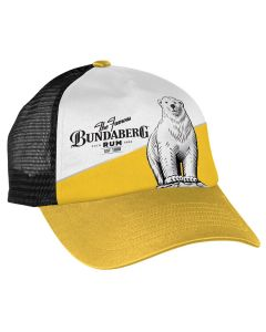 Bundaberg Rum Yellow & White Trucker Cap