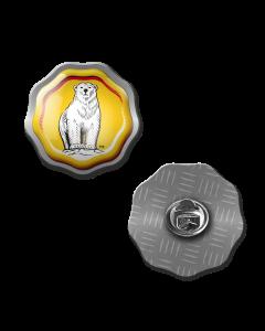 Bundaberg Bear Rosette Hat Pin