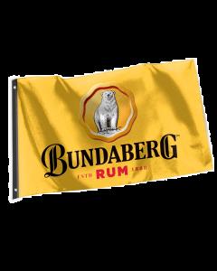 Bundaberg Rum Flag Yellow