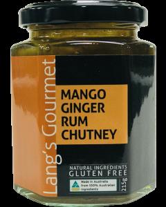 Lang's Gourmet Mango Ginger Rum Chutney