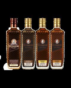 Liqueur Mixed Flavour 4 Pack w/ Rum Ball