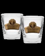 Bundaberg Set of 2 Badged Spirit Glasses