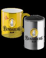 Bundaberg Rum Metallic Mug & Can Cooler