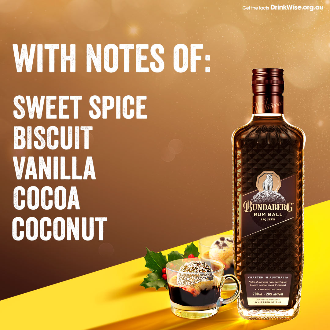 Bundaberg Rum Ball Royal Liqueur Tasting Notes